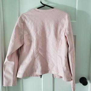 New York & Company Jackets & Coats - Pink Moto Jacket New York Co
